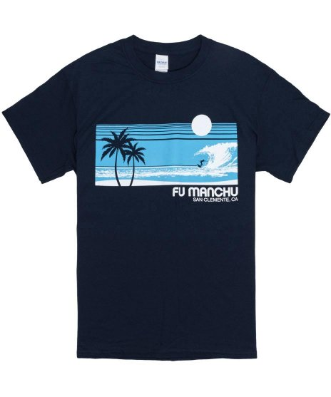 Fu Manchu Tシャツ サーフ サンクレメンテ