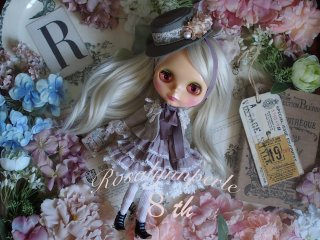 Rosalynnperle 8th記念ドレス 「peony」