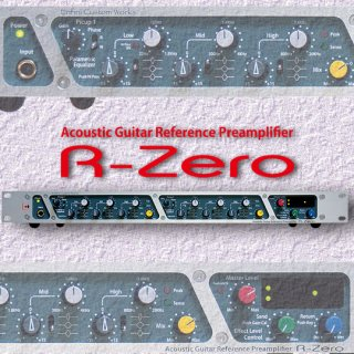 R-Zero<br>Acoustic Guitar Reference Preamplifier<br>購入支援キャンペーン