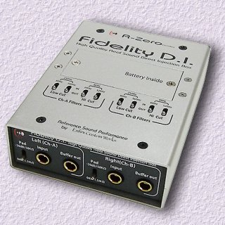 High Quality Real Sound<br>Direct Injection Box Fidelity D.I.<br>Traveler発売記念 スペシャルキャンペーン