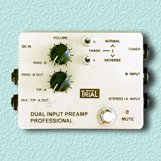 TRIAL / DUAL INPUT PREAMP PRO