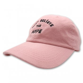 HSTRY/ヒストリー/Don't Believe Twill Strapback Hat/キャップ/COLOR(PEACH)/カラー(ピーチ)/CAP