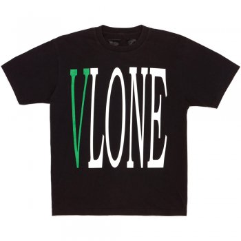 <img class='new_mark_img1' src='//img.shop-pro.jp/img/new/icons15.gif' style='border:none;display:inline;margin:0px;padding:0px;width:auto;' />ブイロン VLONE Staple T-Shirt (Black/Green) Tシャツ(ブラック/グリーン)/S/S T-SHIRTS Mサイズ