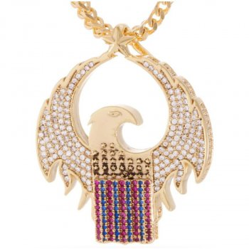 キングアイス KINGICE Officially Licensed Gold MACUSA Necklace ACCESSORIES アクセサリー