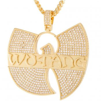 キングアイス KINGICE Wu-Tang Clan×King Ice-The Wu-Tang Forever Necklace GOLD ACCESSORIES アクセサリー