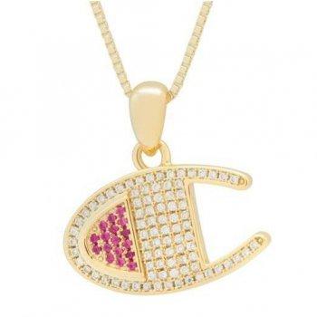 キングアイス KINGICE Champion Heritage CZ 925 Gold Vermeil Necklace GOLD ゴールド ACCESSORIES