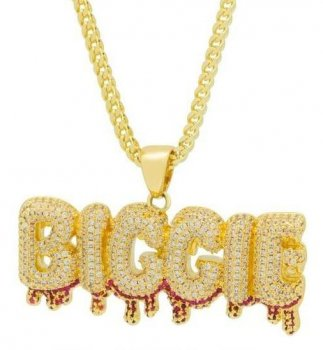 キングアイス KINGICE Notorious B.I.G. x King Ice - Biggie Drip Necklace ACCESSORIES