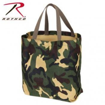 <img class='new_mark_img1' src='//img.shop-pro.jp/img/new/icons15.gif' style='border:none;display:inline;margin:0px;padding:0px;width:auto;' />ロスコ ROTHCO Canvas Camo And Solid Tote Bag トートバッグ Woodland カモ BAG