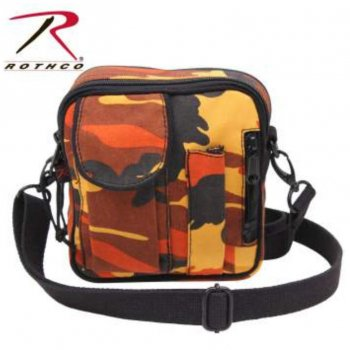 <img class='new_mark_img1' src='//img.shop-pro.jp/img/new/icons15.gif' style='border:none;display:inline;margin:0px;padding:0px;width:auto;' />ロスコ ROTHCO Camo Excursion Organizer Shoulder Bag ショルダーバッグ Savage Orange Camo オレンジカモ BAG