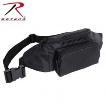 <img class='new_mark_img1' src='//img.shop-pro.jp/img/new/icons15.gif' style='border:none;display:inline;margin:0px;padding:0px;width:auto;' />ロスコ ROTHCO Crossbody Fanny Pack クロスボディファニーパック ウエストバッグ Black ブラック BAG
