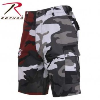 <img class='new_mark_img1' src='//img.shop-pro.jp/img/new/icons15.gif' style='border:none;display:inline;margin:0px;padding:0px;width:auto;' />ロスコ ROTHCO Two-Tone Camo BDU Shorts ショーツ Red Camo/City Camo レッドカモ/シティカモ SHORT PANTS Sサイズ