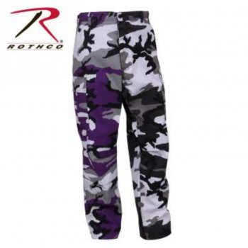 <img class='new_mark_img1' src='//img.shop-pro.jp/img/new/icons15.gif' style='border:none;display:inline;margin:0px;padding:0px;width:auto;' />ロスコ ROTHCO Two-Tone Camo BDU Pants パンツ Ultra Violet Purpre/City Camo カモ PANTS Sサイズ