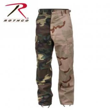 <img class='new_mark_img1' src='//img.shop-pro.jp/img/new/icons15.gif' style='border:none;display:inline;margin:0px;padding:0px;width:auto;' />ロスコ ROTHCO Two-Tone Camo BDU Pants パンツ Woodland/Tri-Color Camo カモ PANTS Mサイズ
