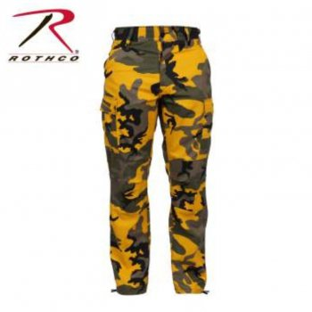 ロスコ ROTHCO Color Camo Tactical BDU Pants パンツ Stinger Yellow Camo スティンガーイエローカモ PANTS Lサイズ