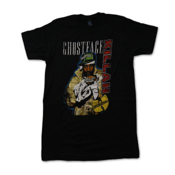 ライブネイション Live Nation Ghostface Killah Standing Photo Mens Soft Tee Tシャツ BLACK ブラック S/S T-SHIRTS Sサイズ