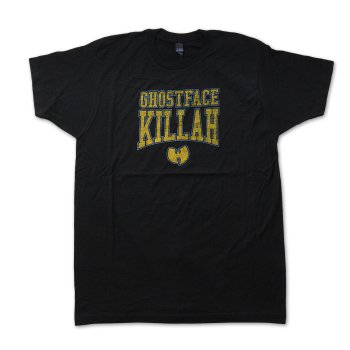 ライブネイション Live Nation Ghostface Killah Gold Logo Mens Soft Tee Tシャツ BLACK ブラック S/S T-SHIRTS Lサイズ