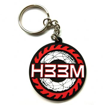 <img class='new_mark_img1' src='//img.shop-pro.jp/img/new/icons15.gif' style='border:none;display:inline;margin:0px;padding:0px;width:auto;' />ヒーム H33M TRUST RUBBER KEYCHAIN キーチェーン RED/BLACK レッド/ブラック OTHER GOODS