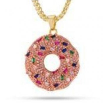 キングアイス KINGICE The CZ Donut Necklace(14K Gold) ACCESSORIES