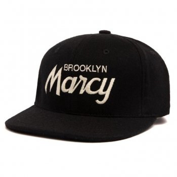 <img class='new_mark_img1' src='//img.shop-pro.jp/img/new/icons15.gif' style='border:none;display:inline;margin:0px;padding:0px;width:auto;' />HOOD HAT Marcy キャップ Snapback Black ブラック CAP