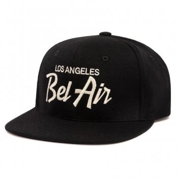 <img class='new_mark_img1' src='//img.shop-pro.jp/img/new/icons15.gif' style='border:none;display:inline;margin:0px;padding:0px;width:auto;' />HOOD HAT Bel Air II キャップ Snapback Black ブラック CAP