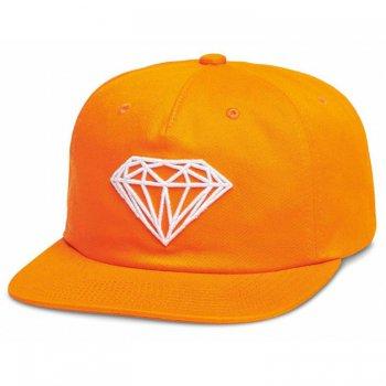 ダイアモンドサプライ DIAMOND SUPPLY CO. BRILLIANT UNSTRUCTURED SNAPBACK キャップ ORANGE オレンジ CAP