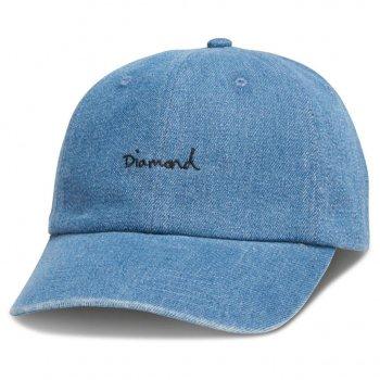 ダイアモンドサプライ DIAMOND SUPPLY CO. OG SCRIPT DENIM SPORTS HAT H17 キャップ MEDIUMWASH ミディアムウォッシュ CAP