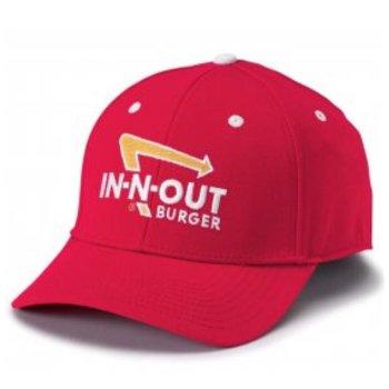 インアンドアウトバーガー In-N-Out Burger TWILL STRETCH RED HAT キャップ RED レッド CAP