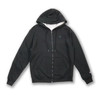 チャンピオン Champion Men's Powerblend Fleece Full Zip Jacket パーカー BLK ブラック PARKER