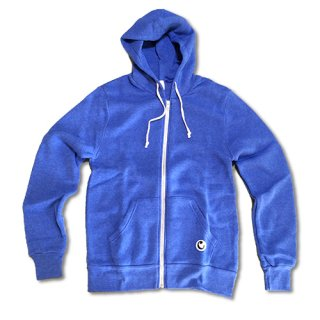 Chillax Zip Up Hoody Blue