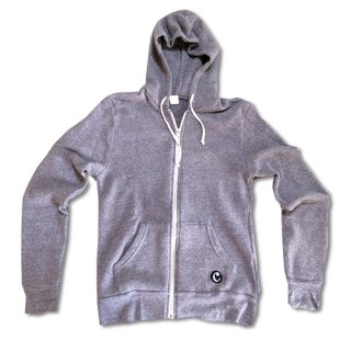 Chillax Zip Up Hoody Gray