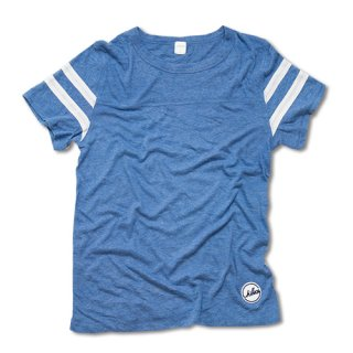 Chillax Football Tee (Blue)