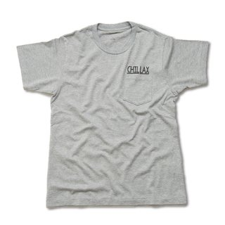 Chillax Pocket Tee (Gray)