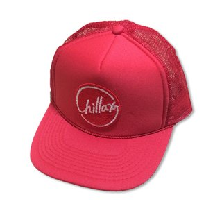 Chillax Mesh Cap (Red)