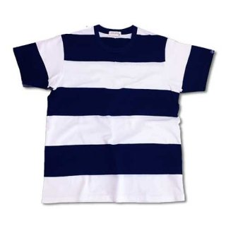 Chillax Border Tee (Navy)