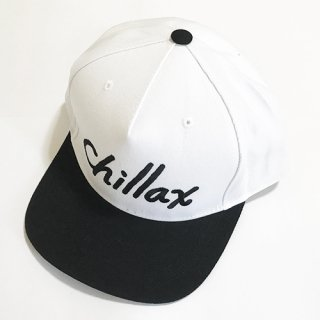 Chillax Logo Cap (White)