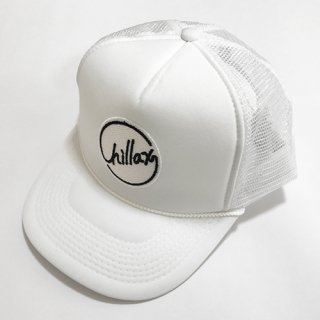 Chillax Mesh Cap (White)