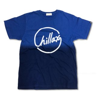 Chillax Gradation Logo Tee Blue/Navy