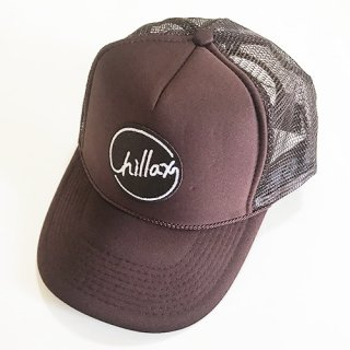2017 A/W Chillax Mesh Cap (Brown)