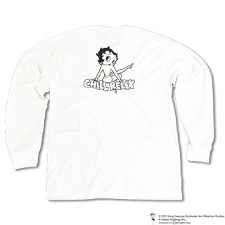 Chillax× BETTY BOOP(TM) Over size Long T