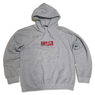 Chillax Pull over Hoody  Gray