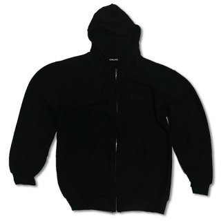 Chillax Zip up Hoody  Black