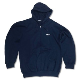 Chillax Zip up Hoody  Navy