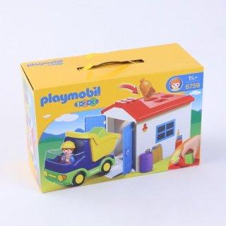 Playmobil ガレージとトラック