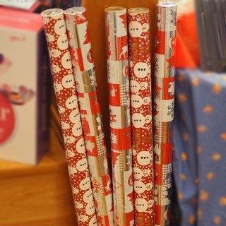 【クリスマス】ラッピングペーパー ロール