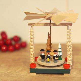 【クリスマス】ミニクルクルピラミッド 聖歌隊と協会