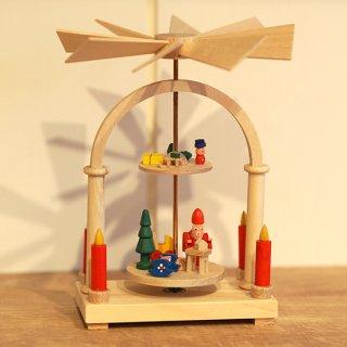 【クリスマス】ミニクルクルピラミッド サンタの工房