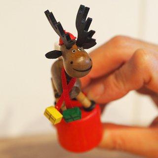 【クリスマス】クシャ人形 トナカイ