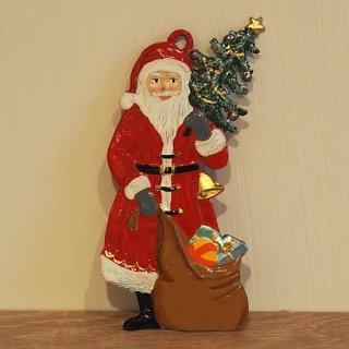 【クリスマス】WSすず細工 サンタとプレゼント袋