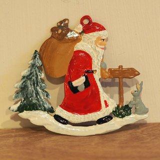 【クリスマス】WSすず細工 森の中のサンタ