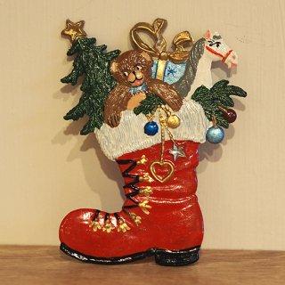 【クリスマス】WSすず細工 クリスマスブーツ
